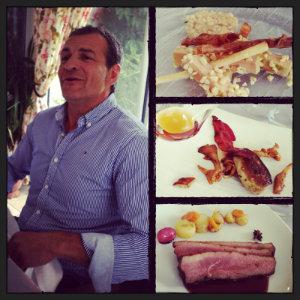 Déjeuner au Château de Bellevue en compagnie de Philippe Baron, président de Gers Foie Gras