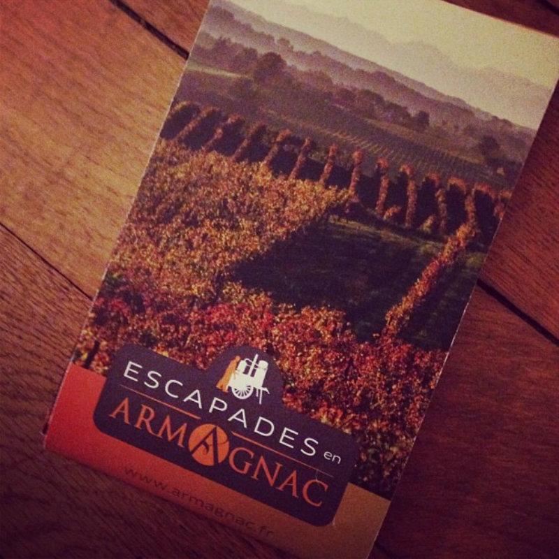 Dépliant réseau Escapades-en-Armagnac-Oenotourisme-Spiritourisme