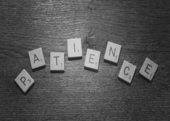 Visuel compte rendu des VDV63 sur le thème de la patience