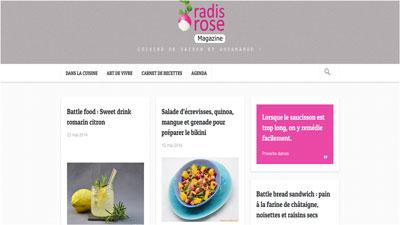 Blog Radis Rose