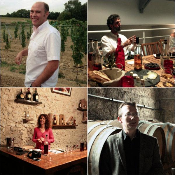 Portraits de producteurs d'Armagnac évoqués sur Very Wine Trip