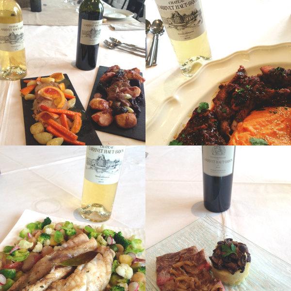 Accords mets et vins - plat principal - Voyage des sens - Château Larrivet Haut Brion