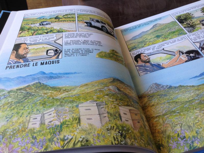 La Corse à l'honneur dans Page Remerciements - Frères de Terroirs, carnet de croqueurs-2 Eté-Automne