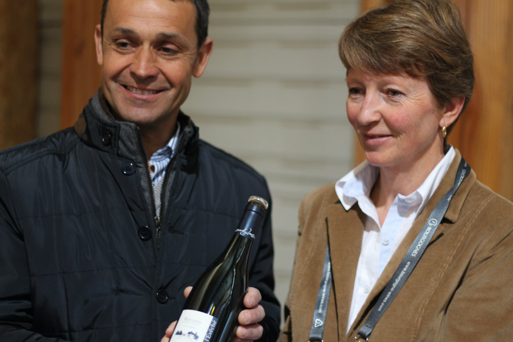 Sylvie et Vincent Joussier - Domaine de l'Évêché - Mercurey