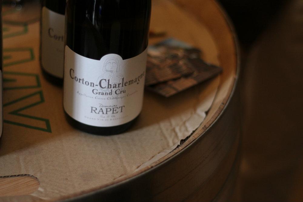 Corton Charlemagne - domaine Rapet - Grands Jours de Bourgogne 2016