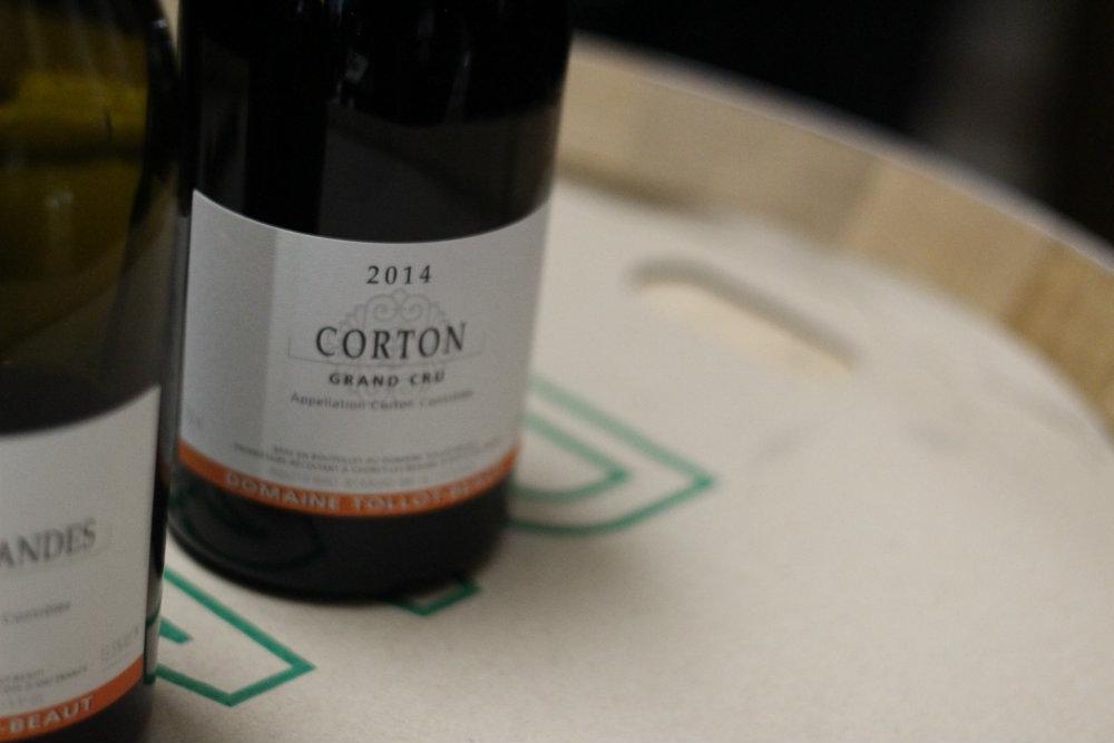 Corton Grand Cru Rouge - domaine Tollot Beaut - Grands Jours de Bourgogne 2016