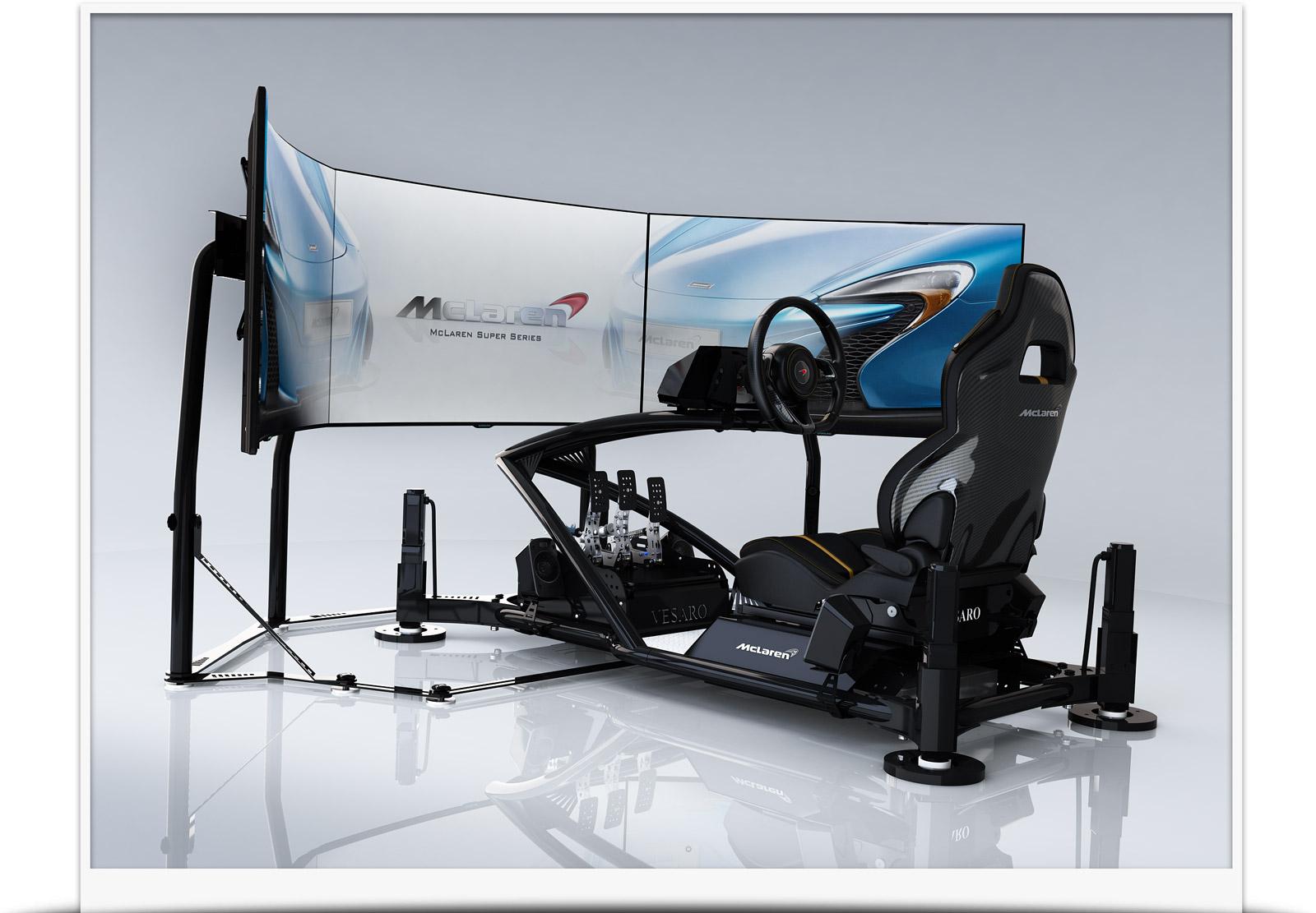 mclaren driving simulators