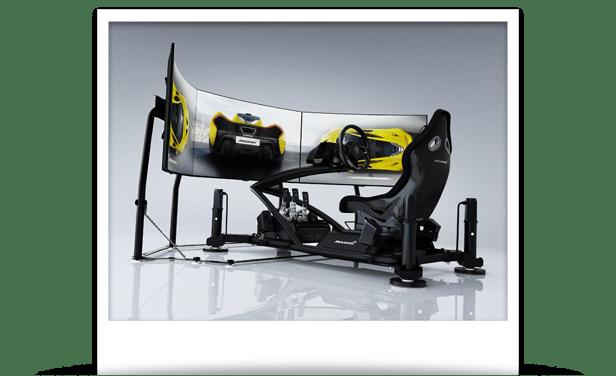 hydraulic racing simulator chair steel price in delhi vesaro advanced simulation flight and game simulators mclaren ultimate series