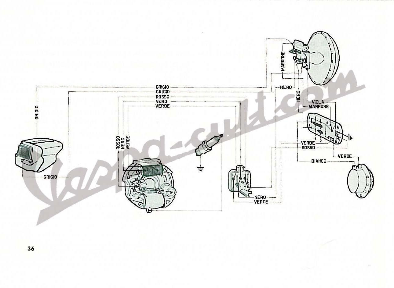 Vespa 50N (V5A1T)