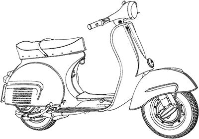 Vespa P125ETS (VMS1T)