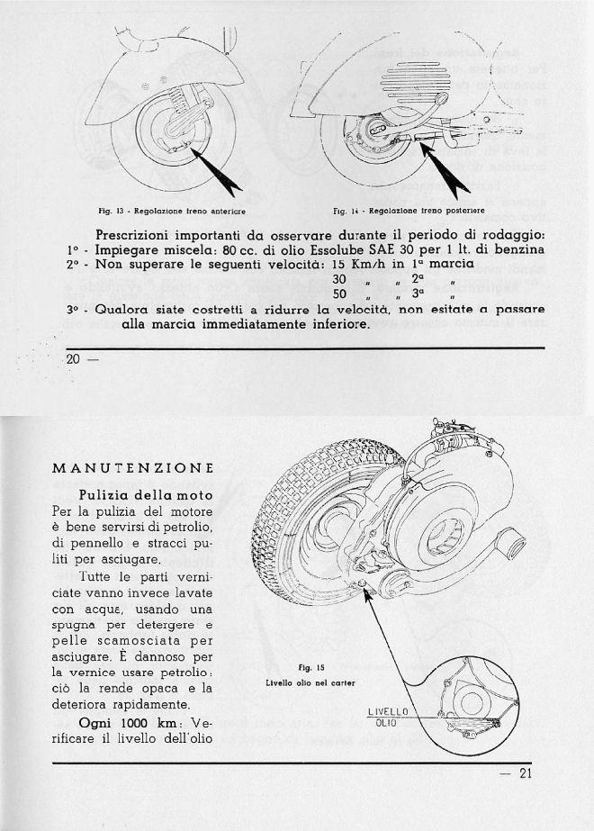 - Manuale d'Uso e Manutenzione VESPA 125 (1953) » Vespa