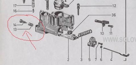 ZONA TECNICA VESPA :: Duda Carburador