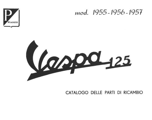 Manuale Vespa VN1 T 1955 – 1956