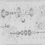 3 Ingranaggi cambio – mozzo ruota posteriore. vn1