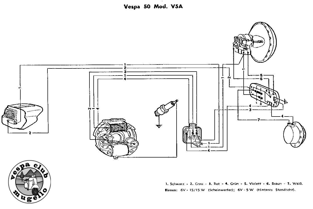 Vespa Lx 150 Wiring Diagram