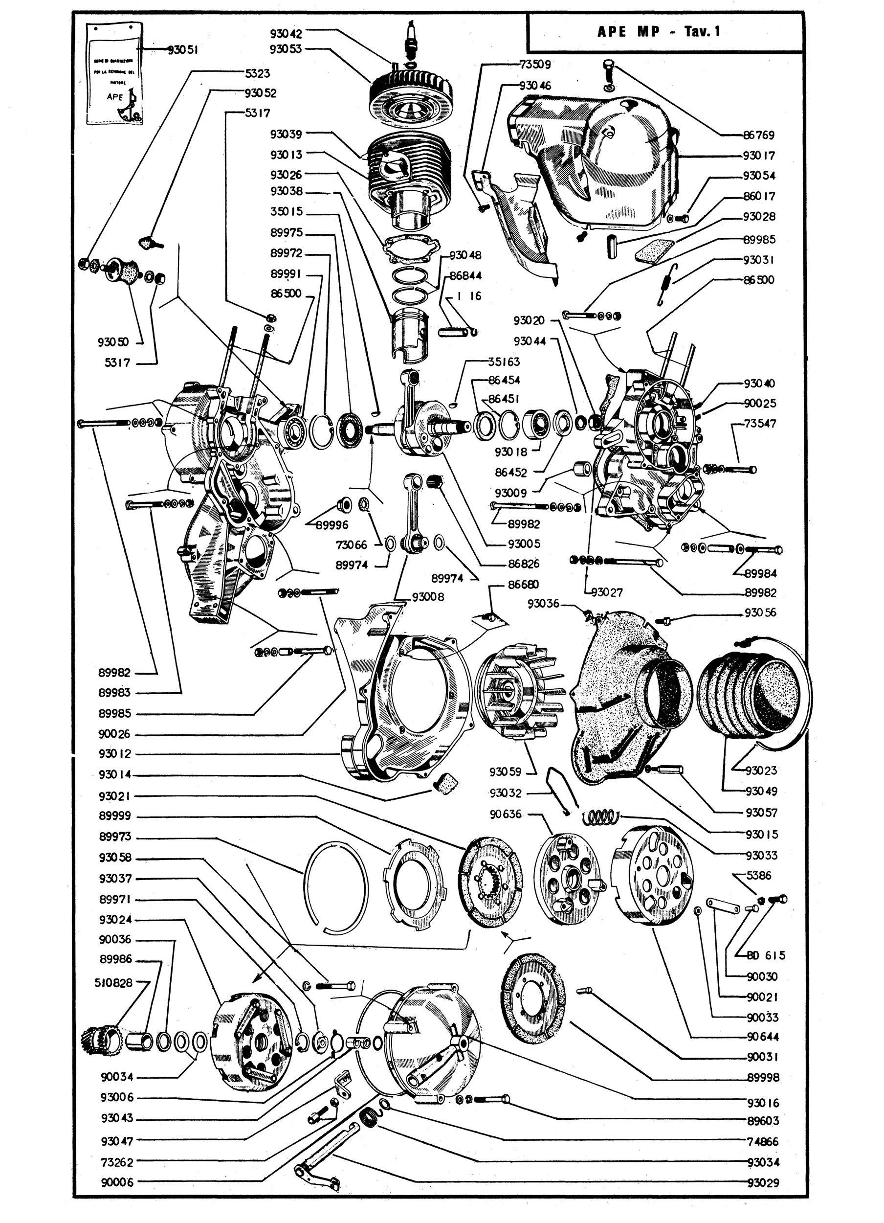 Piaggio Parts Catalog