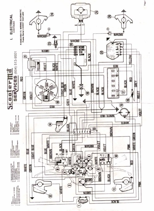 small resolution of vespa p series maintenance repair vaquero wiring diagram vespa wiring diagram