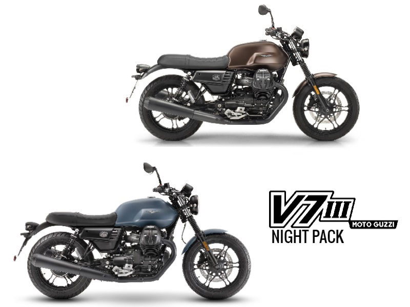 Moto Guzzi V7 III Stone Night Pack 2019 en vente à