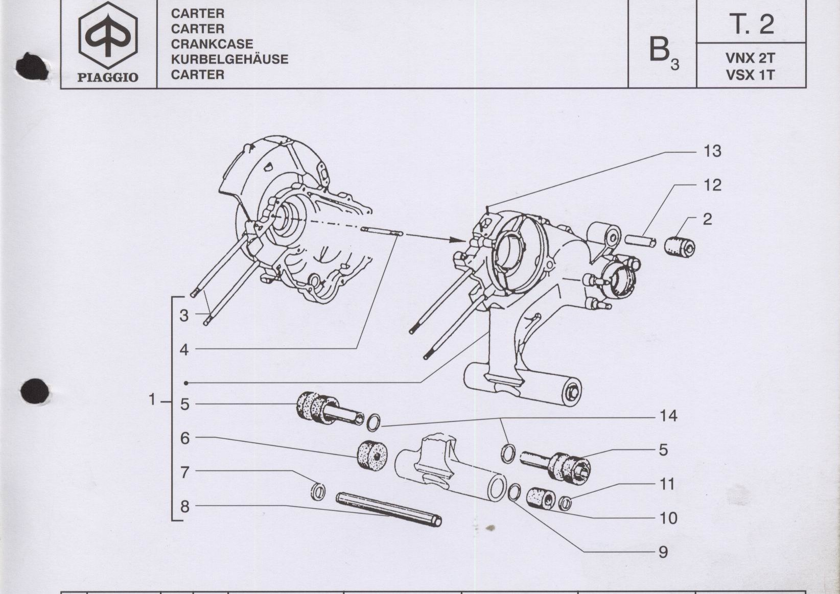048988 ANILLO DISTANCIADOR SILENTBLOCK MOTOR VESPA IRIS