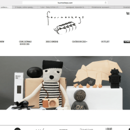 Four monkeys online shop