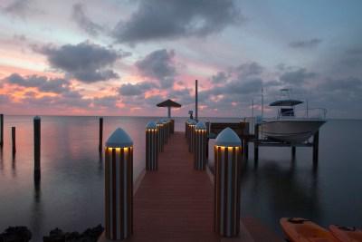 Lifetime warranty dock lights