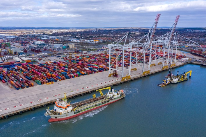 DP World announces £40 million pounds worth of investment at its Southampton terminal to meet growing customer demand over the next decade