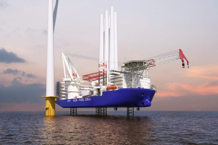 SHI becomes first shipbuilder to receive AiP for independent ECO-WTIV model from three major classification societies