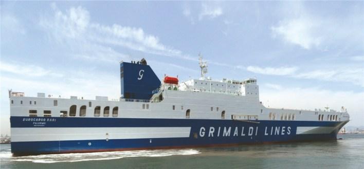Grimaldi Launches Antwerp - Cork Direct Freight Line
