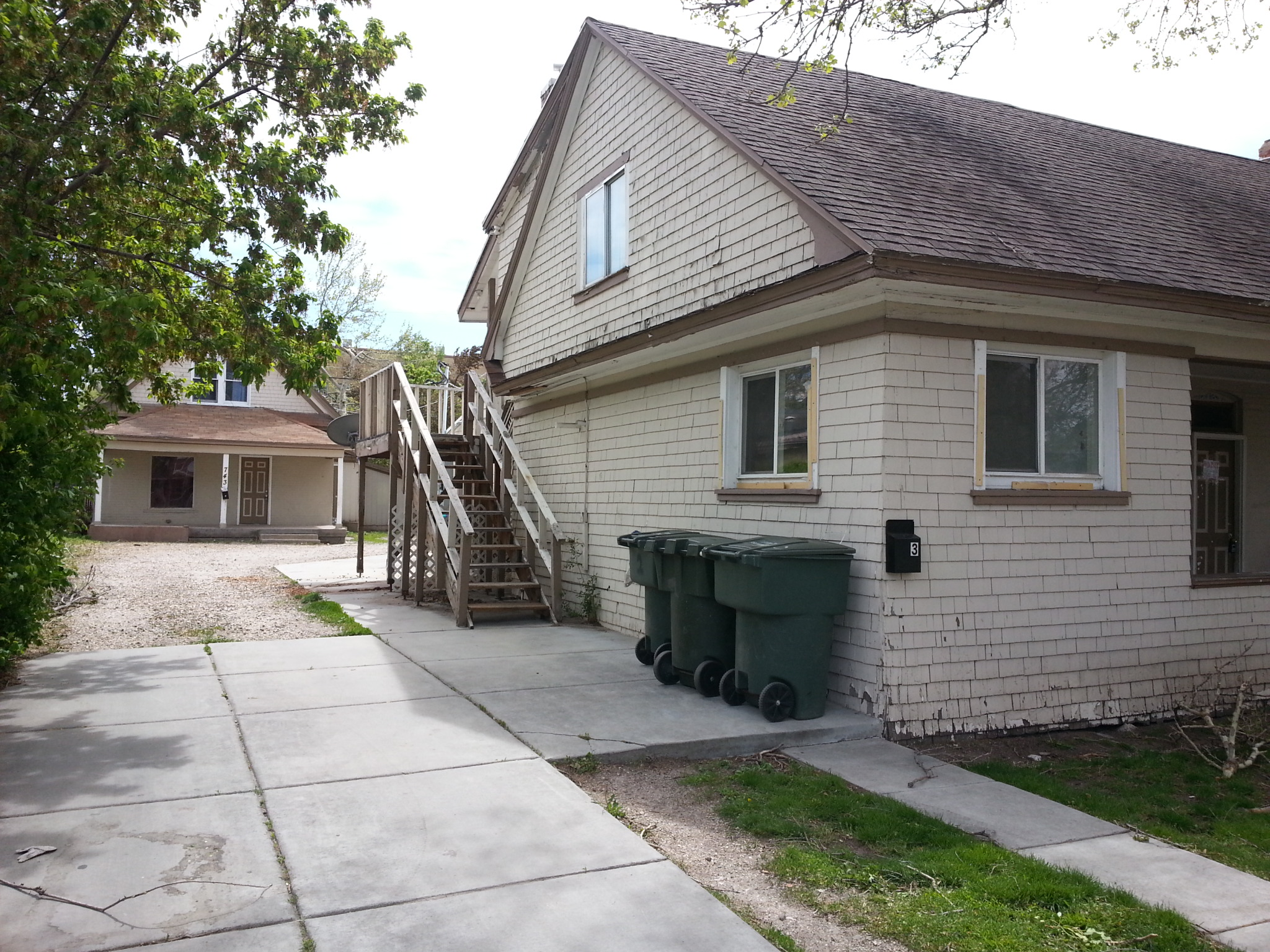 FOR SALE:  Ogden Fourplex Investment Property
