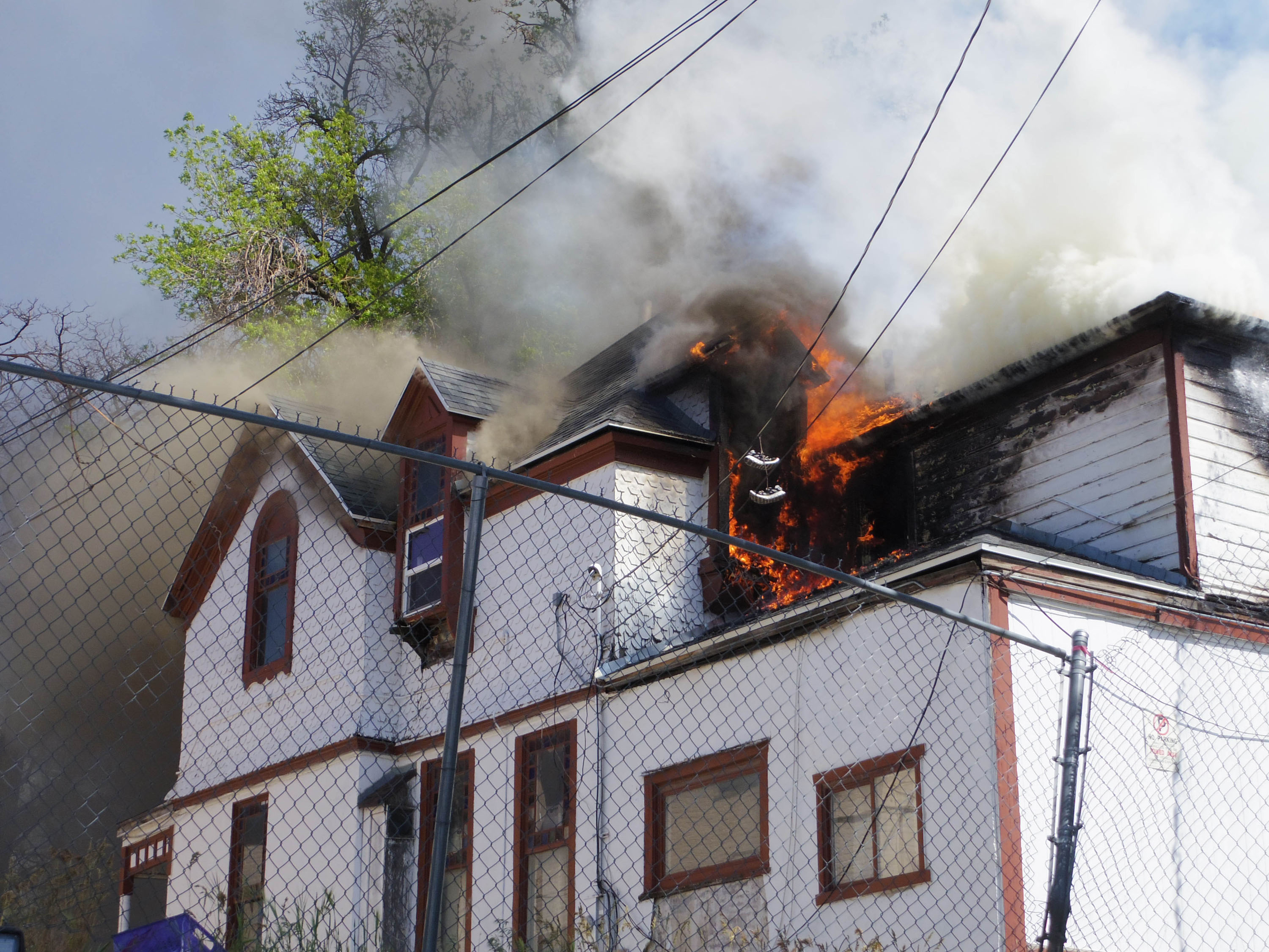 INFERNO: Fire Claims One of Ogden's Oldest Standing Homes