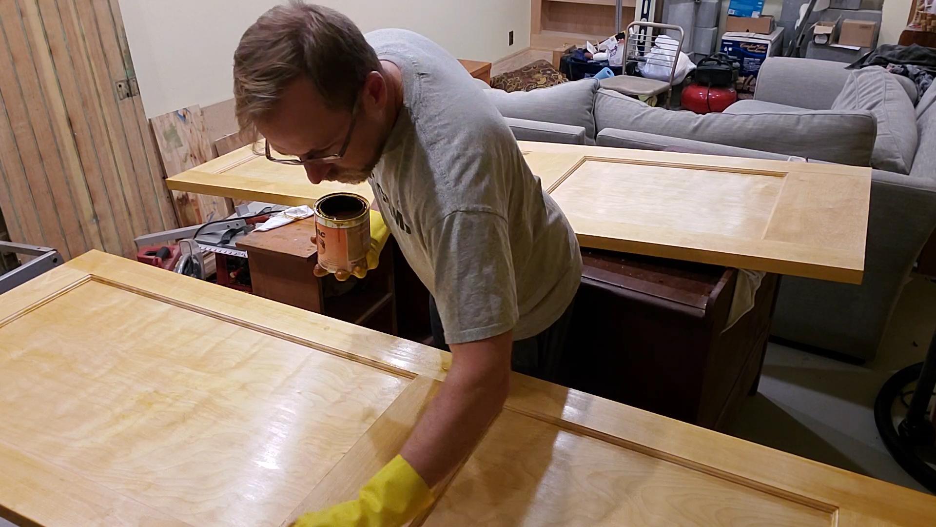 VIDEO:  Wood Finish – Shellac on Historic Style Birch Doors