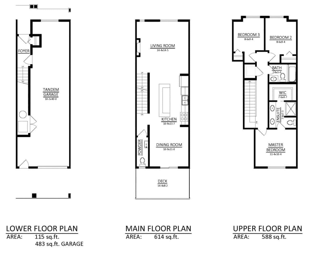 736Townhome -C-FLOORPLAN