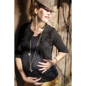 Llamador de Ángeles embarazada
