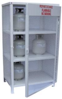 Vestil - Cylinder Storage Cabinets