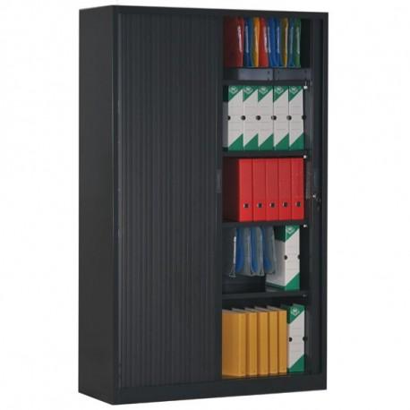 armoire rideaux monobloc h195 l120 p46 cm