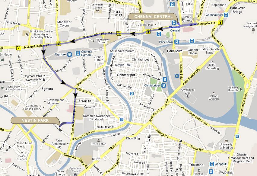 Vestin Park Chennai An Iso Certified Hotel Chennai Hotels