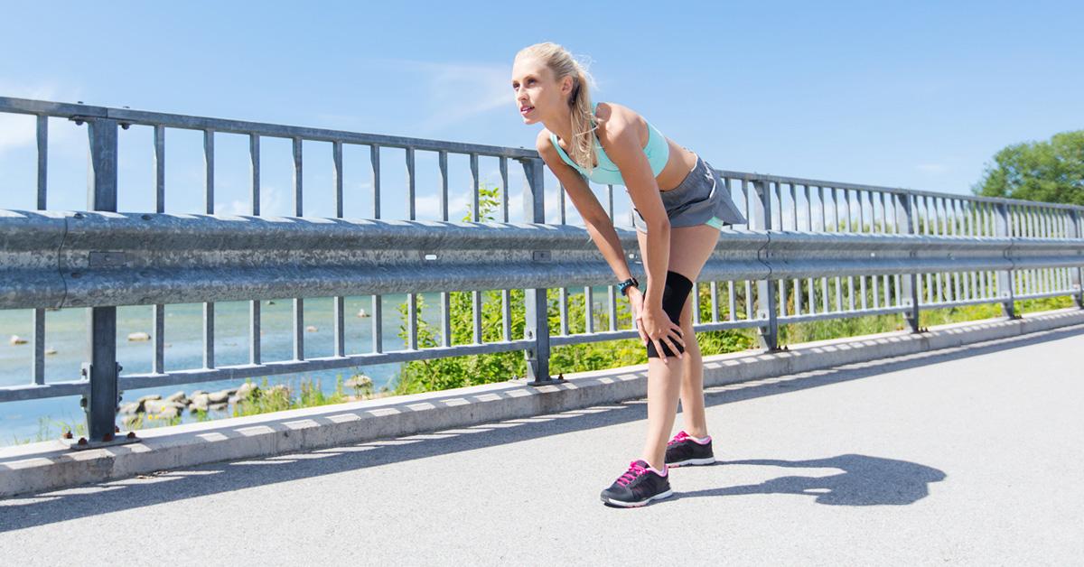 Migliore ginocchiera per correre con dolore al ginocchio