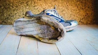 cambiare le scarpe da running