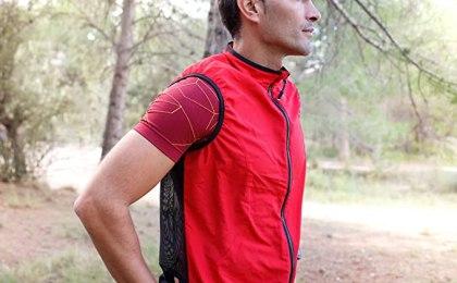 Gilet tecnico economico 42k Vest EVO, rosso