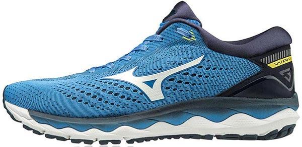 Mizuno Wave Sky 3, Scarpe running, uomo, colore blu