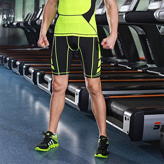 Acquista su Amazon Pantaloncini running a compressione Hivexagon