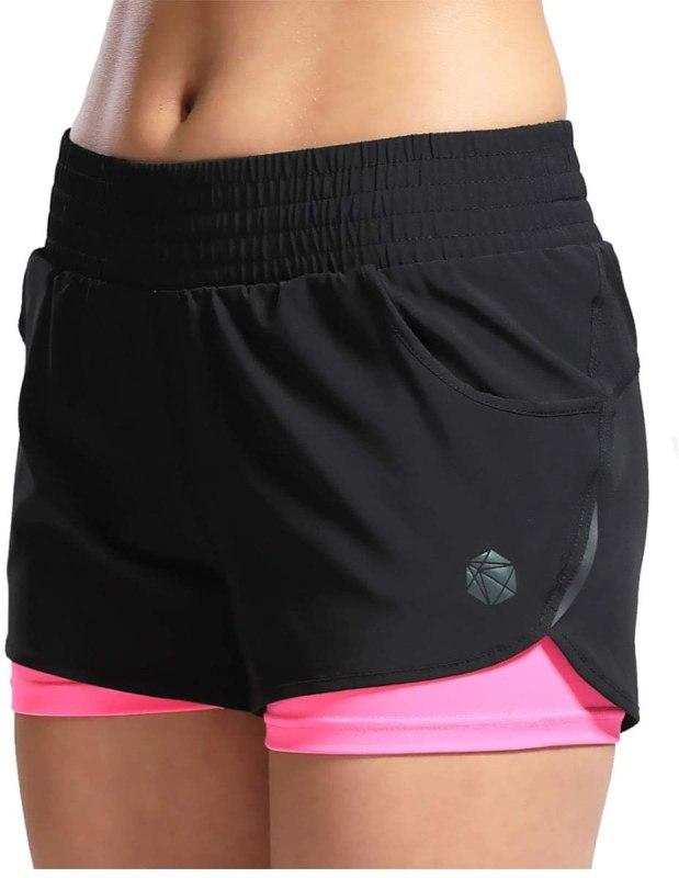 Acquista su Amazon SILIK Pantaloncini Sportivi da Palestra da Donna