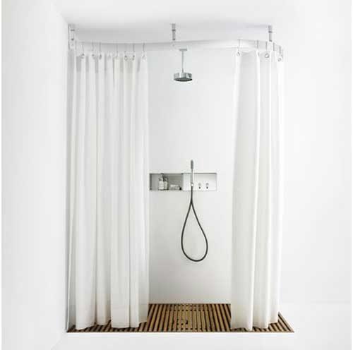 La tenda da doccia è un accessorio indispensabile nel bagno, da installare per proteggere. Bagno Moderne 3d Stampato Poliestere Resistente Tessuto Lavabile Tenda Della Vasca Da Bagno Con 12 Ganci Fansu Tende Da Doccia Antimuffa Impermeabile 90x180cm Acchiappasogni Doro Casa E Cucina Visonic In