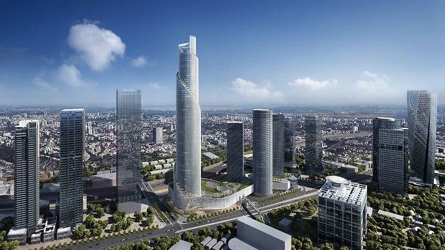Видео так будет выглядеть новый спиралевидный небоскреб в
