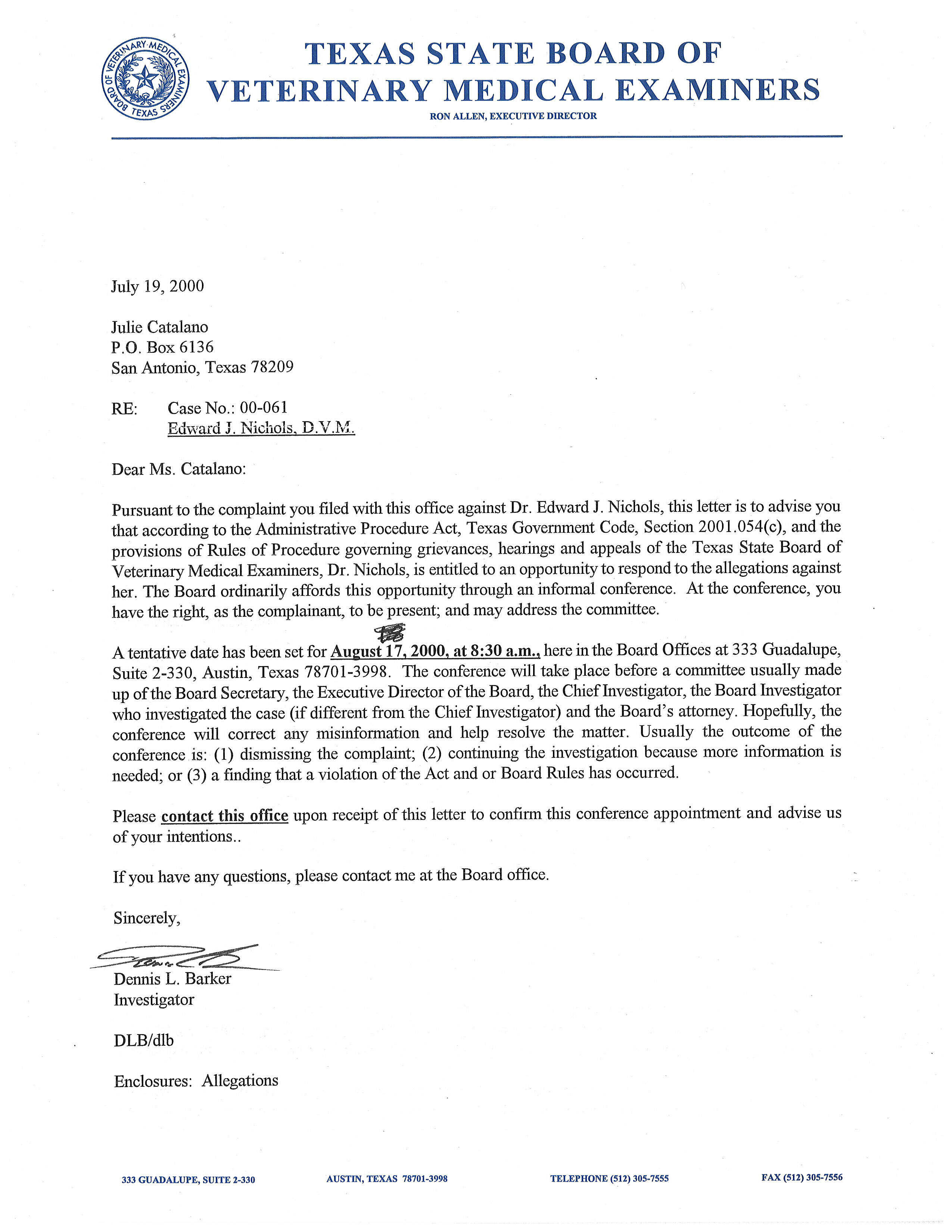 Recommendation Letter Example Medical School