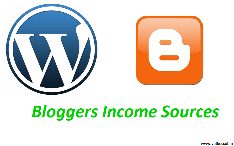Bloggers Income Sources