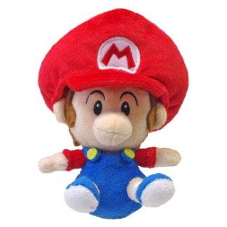 Baby Mario 13cm knuffel
