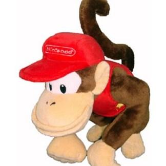 Diddy Kong Knuffel 20cm