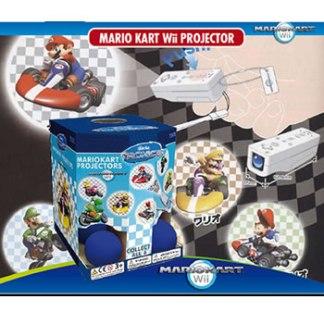 Mario Kart Wii Projector
