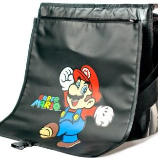 Reversible Mario & Donkey Kong Flap Bag